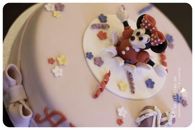 Mimmi pigg birthdaycake!