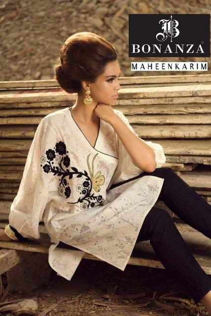 Maheen Karim Autumn Winter Dresses 2014 for Women.Latest Pakistani Designer Dresses 2014. #pakistanidesignerdresses, #dressdesigns2014, #pakistanidresses