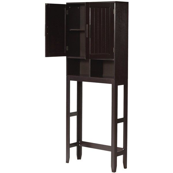 etagere elegant home fashions catalina over toilet space. Black Bedroom Furniture Sets. Home Design Ideas