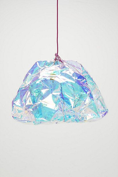 Anthropologie: Diamond Pendant Lamp