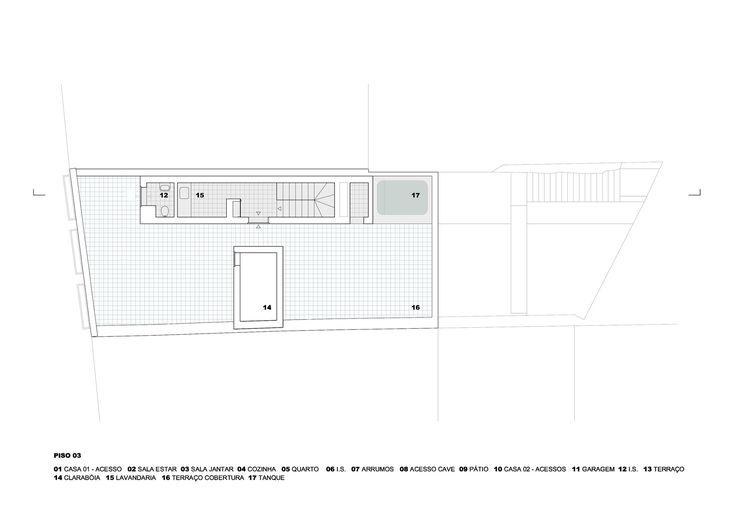 Prazeres House,Third Floor Plan
