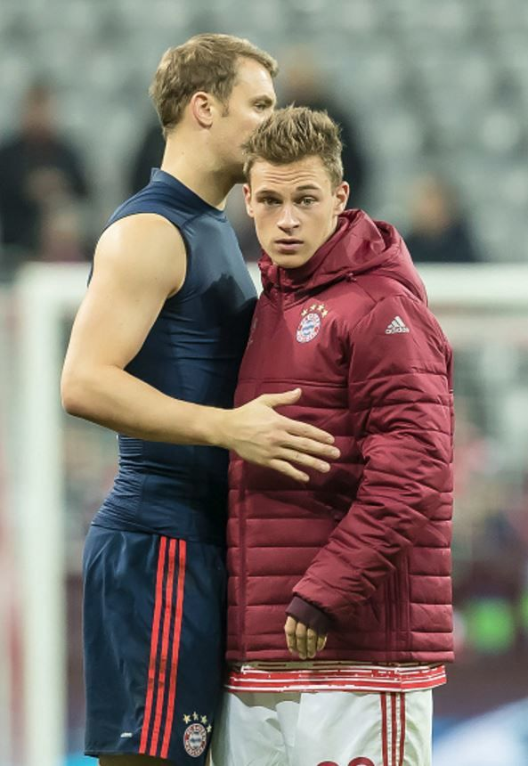 Neuer and Kimmich