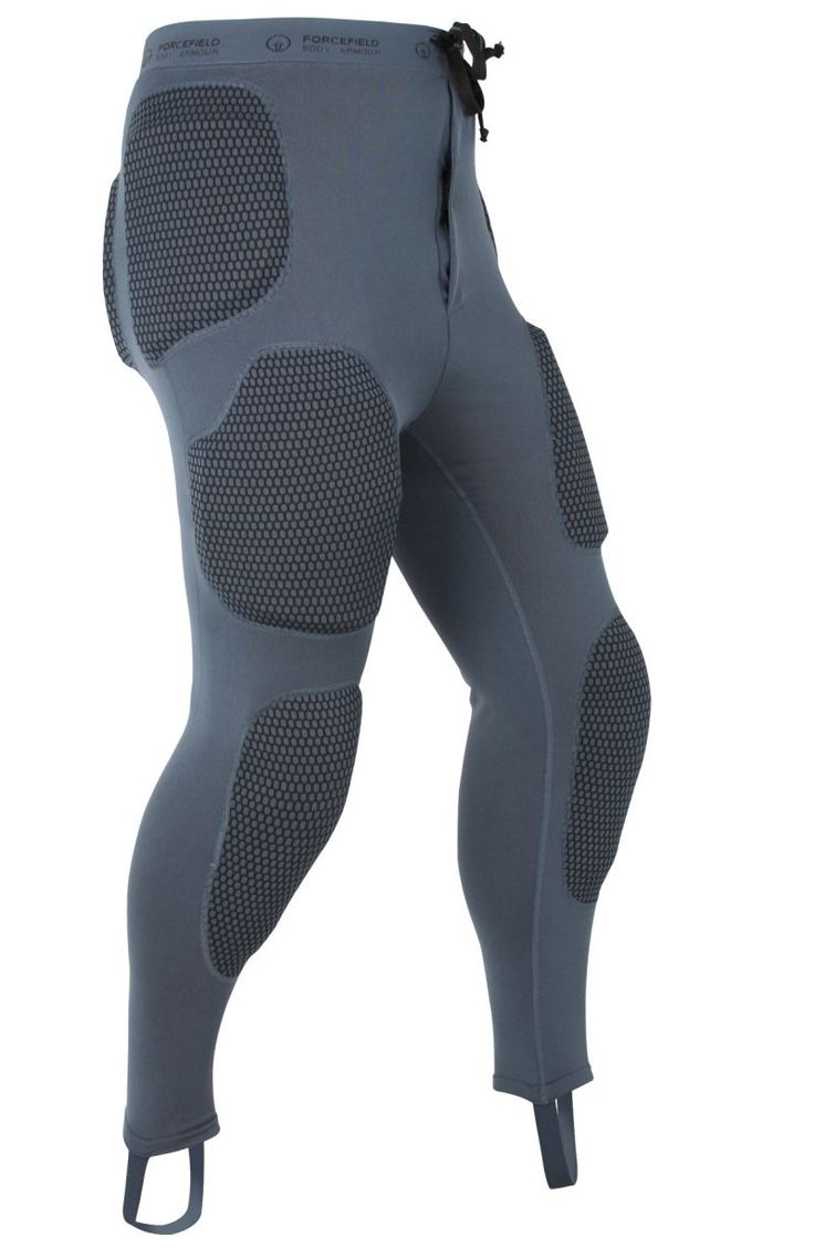 Pro Pants    The Forcefield Pro Pant is a full length armoured base layer pant with removable CE approved armour covering the knees, thighs, hips, buttock and coccyx with Repeat Performance Technology (RPT) to ensure continued protection even after multiple impacts.