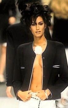 Yasmeen Ghauri - CHANEL, 1996