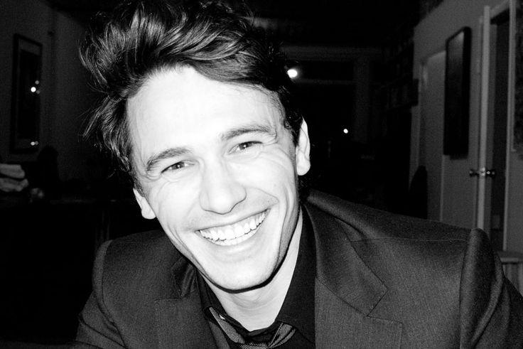 James Franco's smile! Authentic.