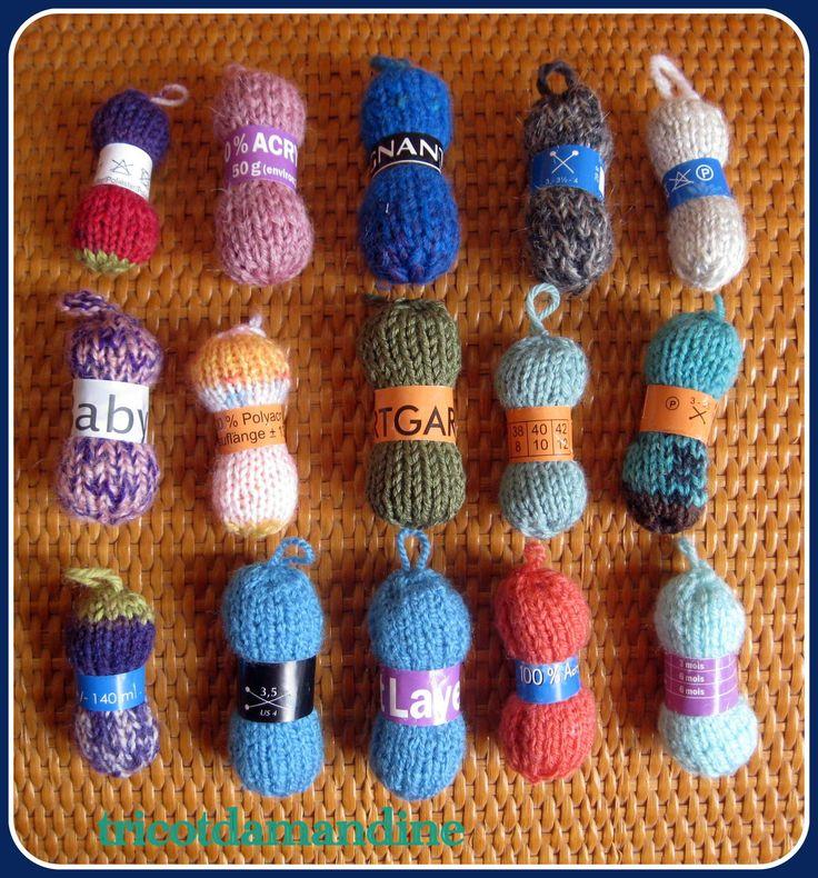 17 best images about mes r as tricot crochet divers - Clef a laine ...