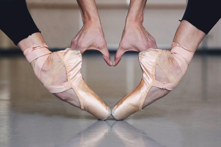 Maria Chapman - Ballet Feet   Heart   © Lindsay Thomas