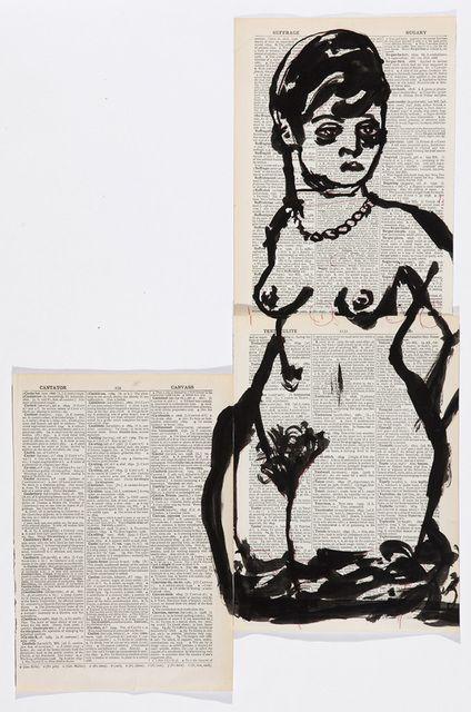 William Kentridge, 'Drawing for 'Lulu',' 2013, Marian Goodman Gallery
