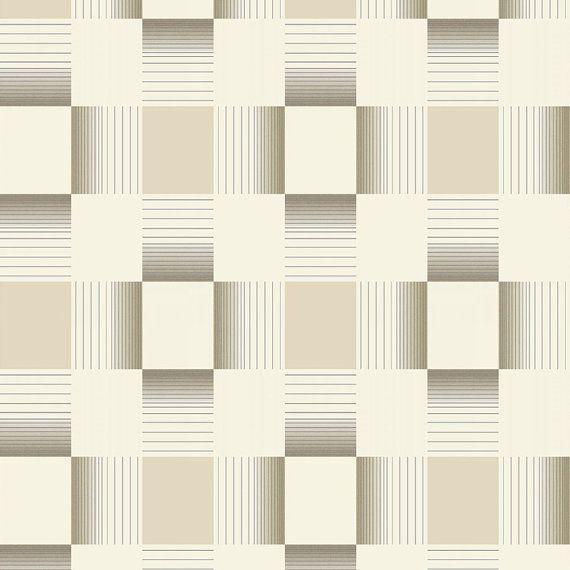 W2WUK / Wallpaper / Wallcoverings / Tiles / Tile Effects / Kitchen / Bathroom / Decorating / Tiling on a Roll / Holden Decor / British design / Hikari / Matrix / Neutral / Beige / Cream / Grey / Blown Vinyl / Textured Vinyl / Geometric