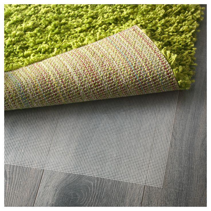 IKEA - HAMPEN Rug, high pile bright green
