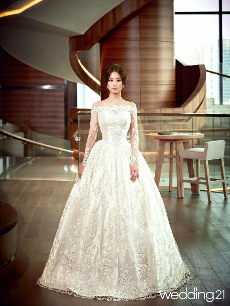 La moda de hermosos vestidos de novia al Estilo de Corea del Sur - Espacio Kpop