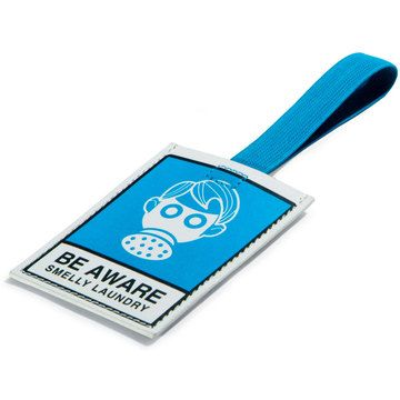Smelly Laundry Luggage Tag  by NYCitylimits  8.95