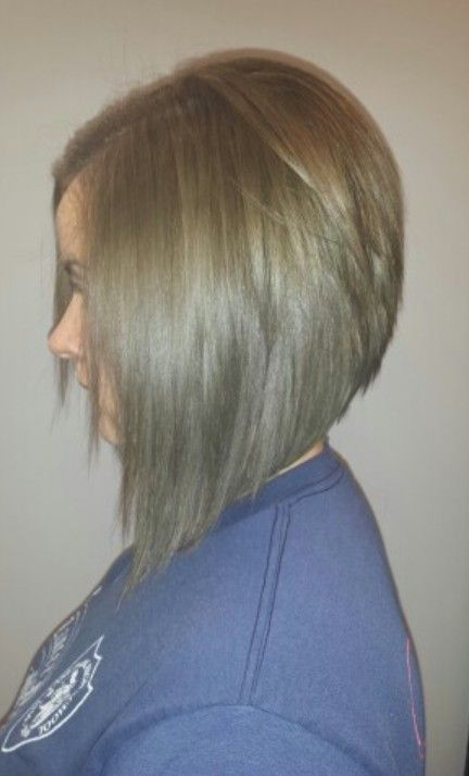 Graduated Bob haircut - Side View - Pretty Designs