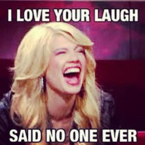 Chanel West Coast... I love her but her laugh is soo obnoxious!!