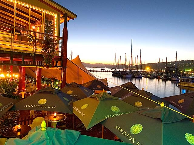 The only thing we overlook at the Drydock is the Knysna Lagoon.