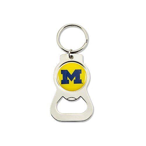 University of Michigan Bottle Opener Keyring (AM)