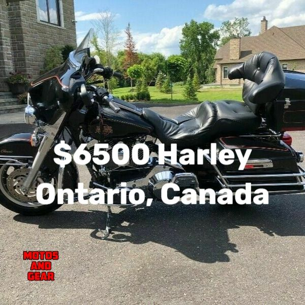 Motorcycle Auction Canada Harley Davidson For Sale Harley
