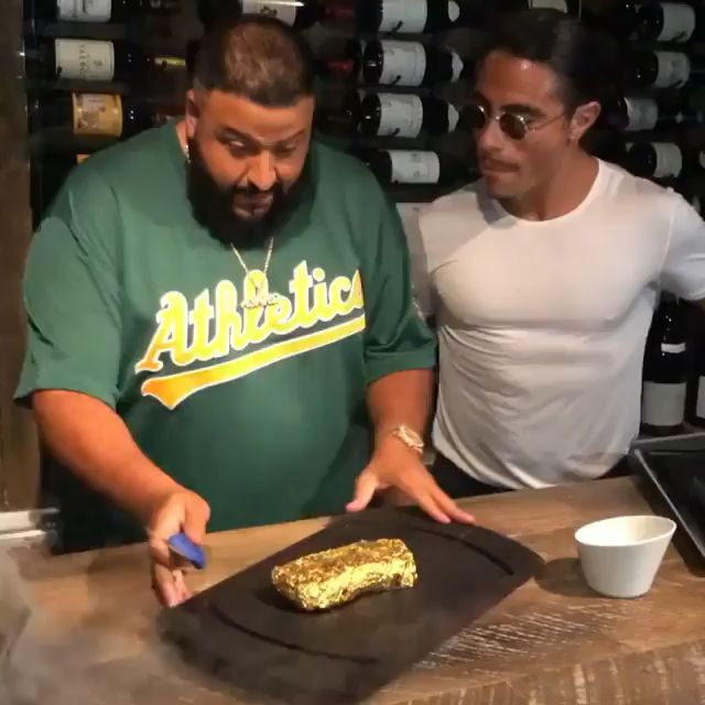 Because salt Bae's Gold steak will make you do strange things .See more at that slaylebrity life