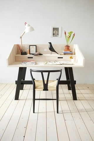 small working spaces