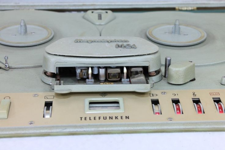 Telefunken M24 Vintage Audio Tape Recorder in transport case • EUR 150,00 - PicClick DE