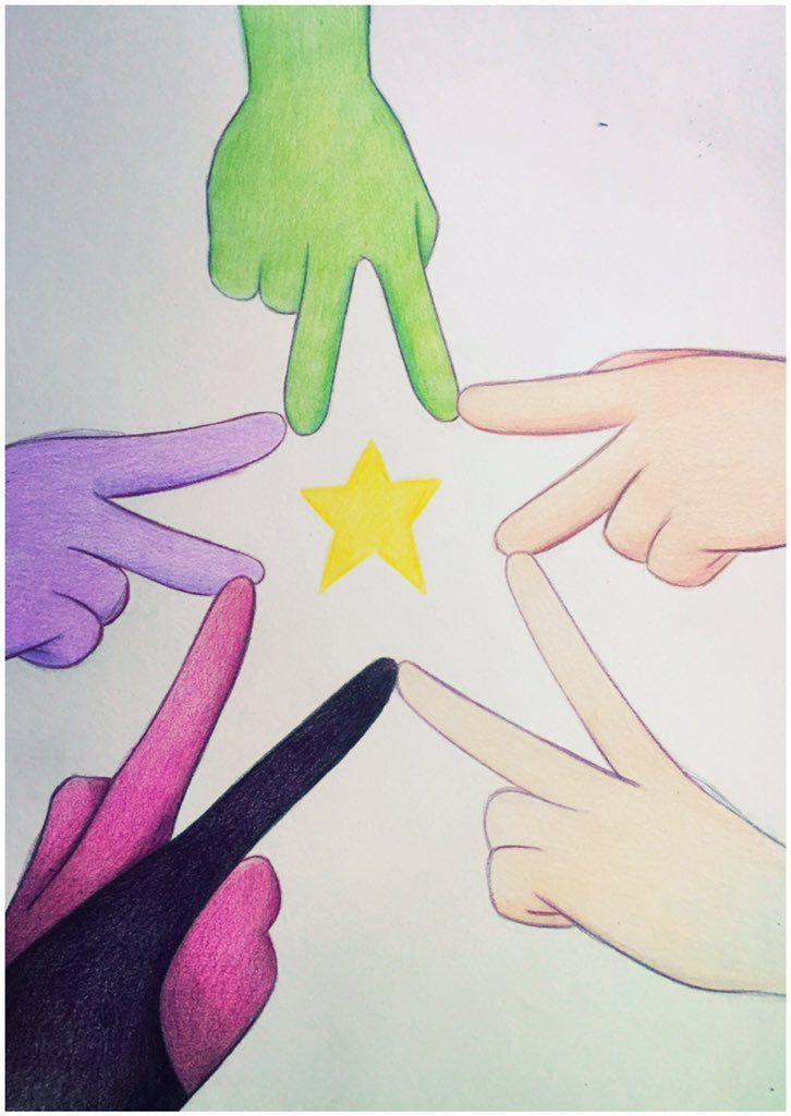 We~ Are the Crystal Gems! Based on a doodle I did like back in April? when I first fell in love with Peridot and the idea of her being a Crystal Gem ** I wanted to do do like a big picture like thi... <<<AMAZING!