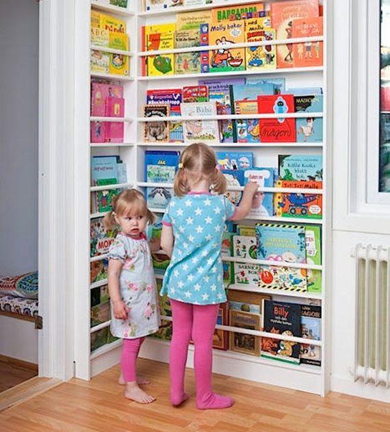 Como montar um cantinho de leitura para as crianças