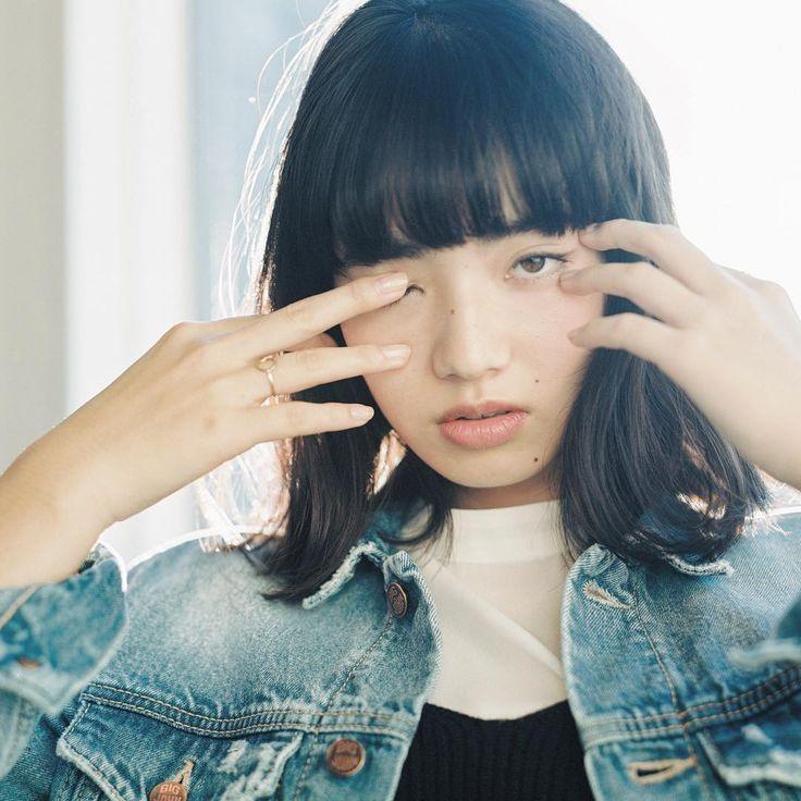 濱田英明 - Instagram写真(インスタグラム)「Nana Komatsu, 2016 #pentax67 #小松菜奈 #nanakomatsu #soupmagazine」4月25日 14時11分