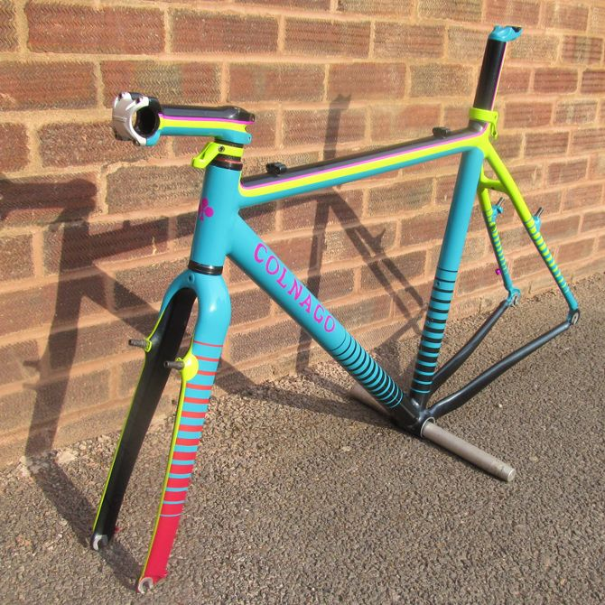 Colnago CX paintwork. - cromaworks.com