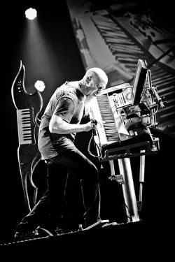 Jordan Rudess - Juilliard trained classical pianist who played keyboard with several rock stars then joined progressive group Dream Theater.