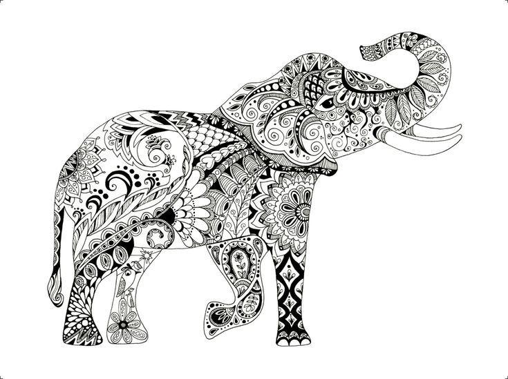 Black And White Elephant Drawing Elephant Art Elephant Etsy In 2020 Elephant Drawing Elephant Art Elephant Print Art