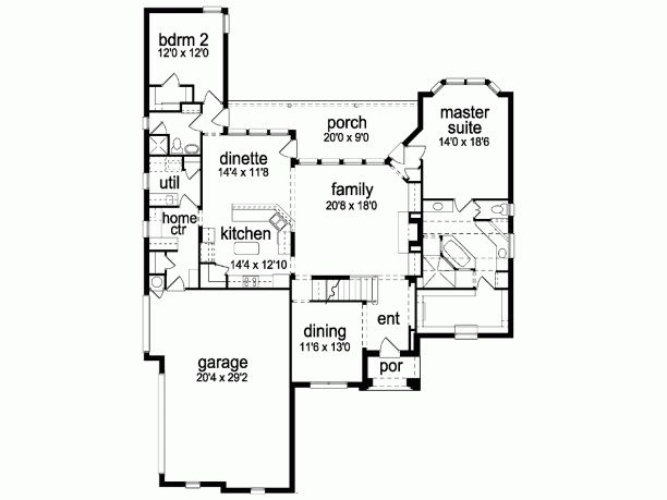 105 best floor plans images on pinterest | ranch house plans