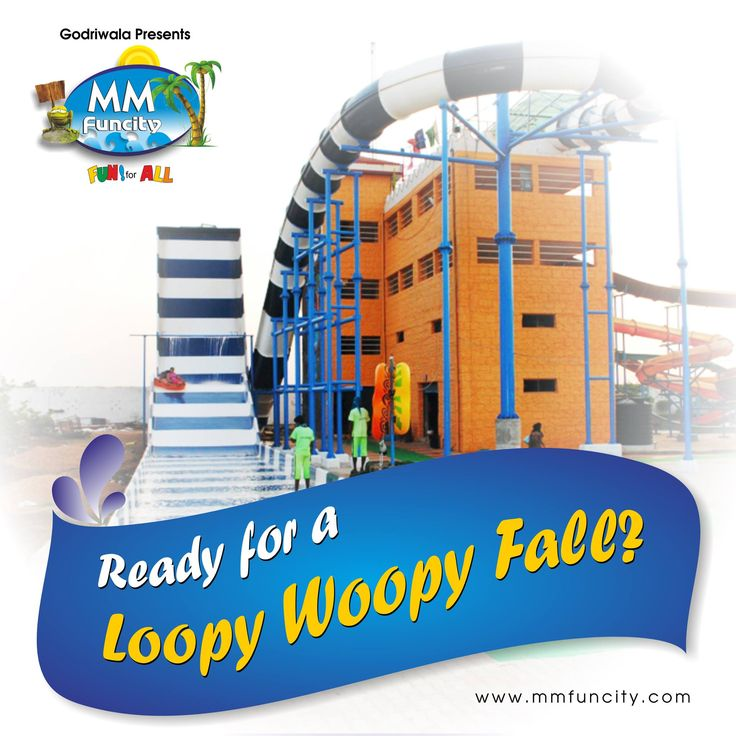 Take Loopy Woopy Fall in this giant slide and yell at the top of your lungs!!!