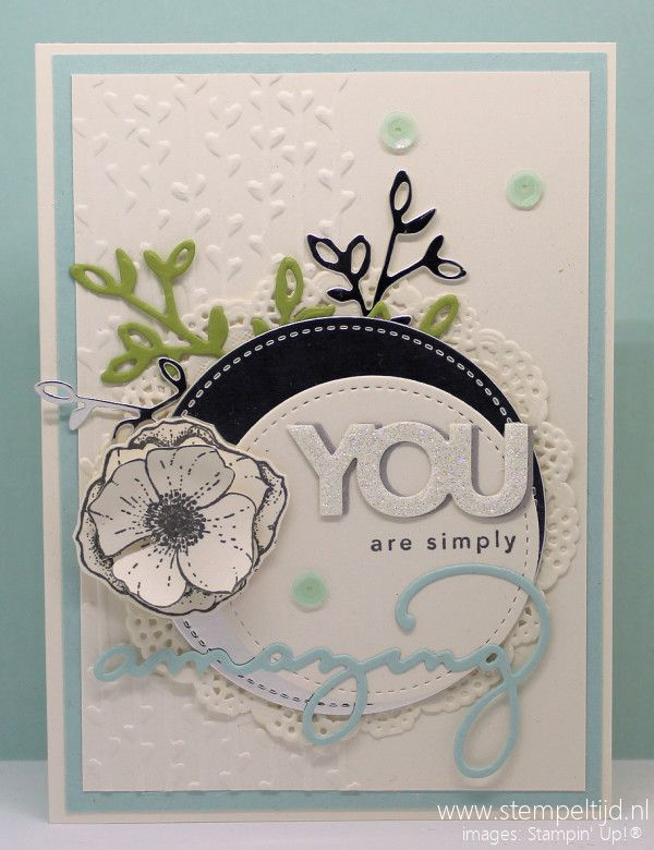Amazing You, Celebrate You, Petal Pair Textured Embossing Folder, Petal & More Framelits Dies - Stampin' Up!