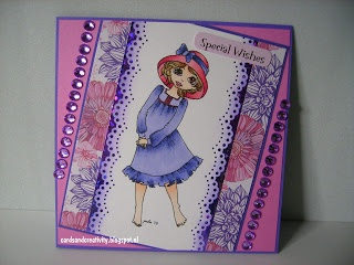 card for twisted thursday challenge on the Outlawz