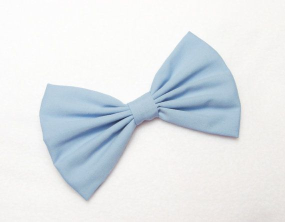 Blue Hair Bow for girls hairbows bows for hair by JuicyBows, $4.99