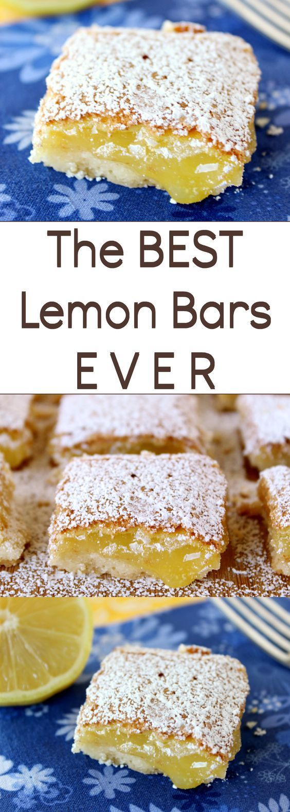 The BEST Lemon Bars EVER | Best Lemon Bars, Lemon Bars and Welcome ...