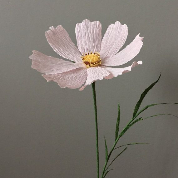 Crepe Paper Cosmos, Single Stem - Wedding Flowers - Home Decor - Florist Supply…