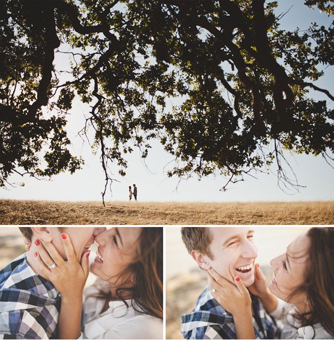 natural engagement pictures