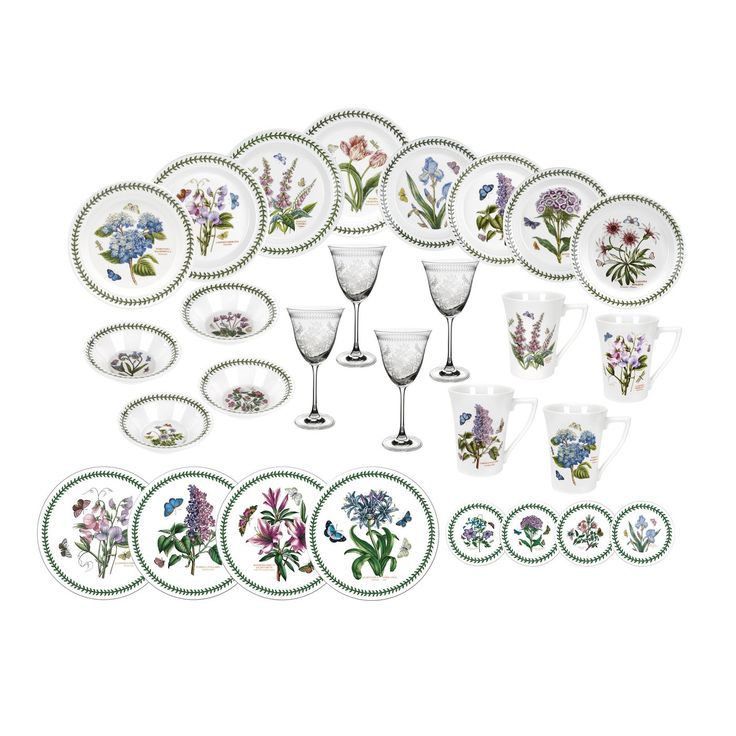 Portmeirion Botanic Garden 28 Piece Set - Portmeirion UK