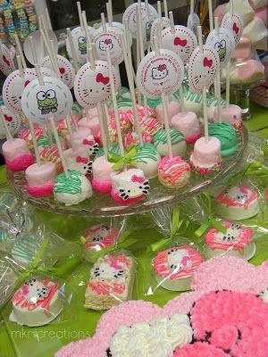 Cómo Decorar un Fiesta de Hello Kitty Party Ideas : Fiestas Infantiles Decoracion