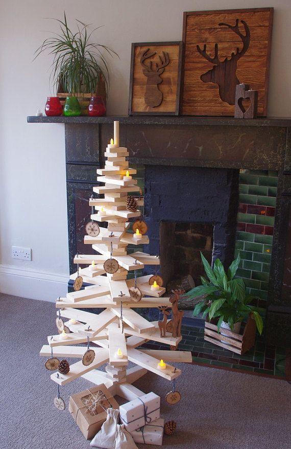 Christmas tree, Alternative Christmas tree, wooden Christmas tree, Christmas decorations, Christmas gifts, Christmas tree UK