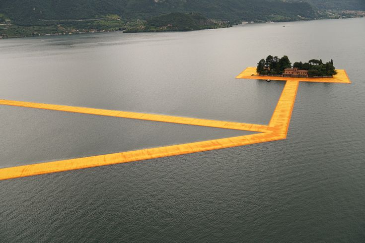 """Gallery of The Floating Piers Opens on Lake Iseo Allowing Visitors to """"Walk on Water"""" - 1"""