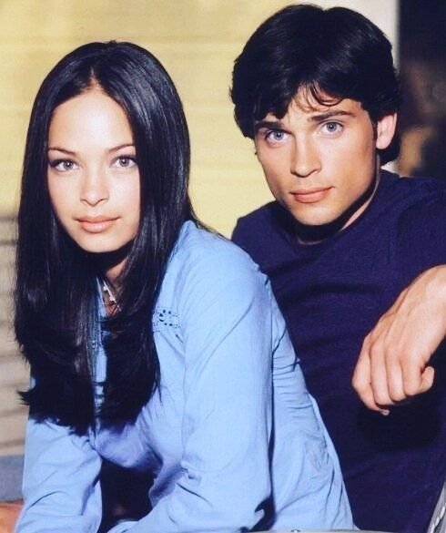 regram @tombyfans #Smallville #LanaLang #ClarkKent #KristinKreuk #TomWelling