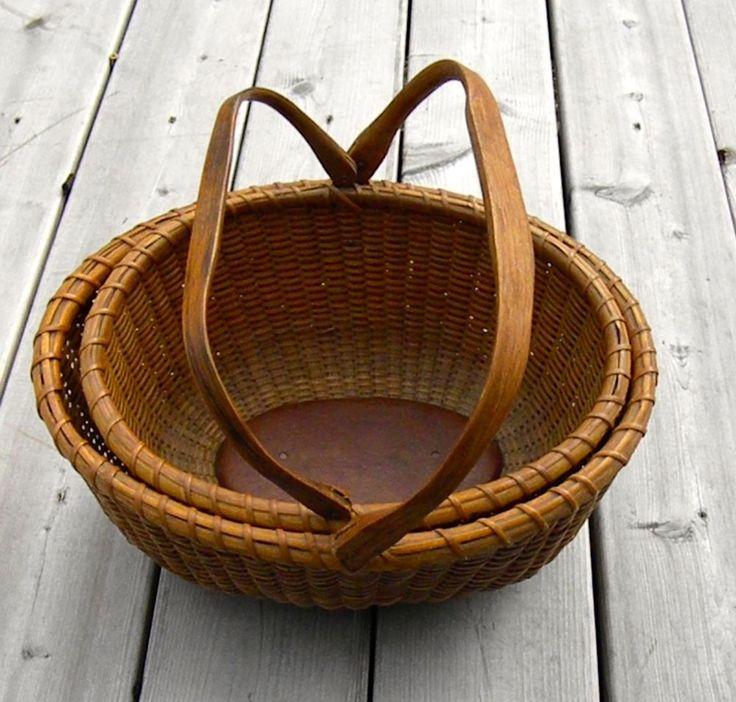 Nantucket Basket Weaving Patterns : Best images about prim baskets on bear