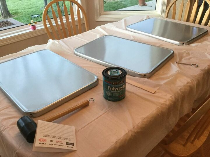 How To Upcycle A 3 Tiered Serving Tray Diy Diy Serving Tray