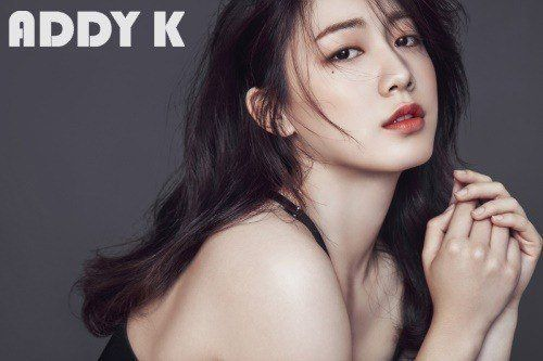 Twin Ryu Hyoyoung Poses for ADDY K | Koogle TV