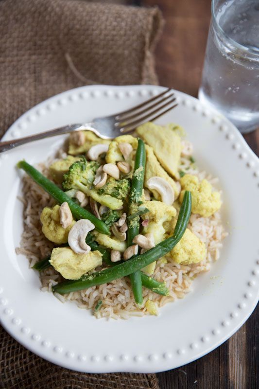 36 best unprocessed recipes images on pinterest unprocessed 20 minute dinner chicken curry with cashews and veggies thevintagemixer forumfinder Gallery
