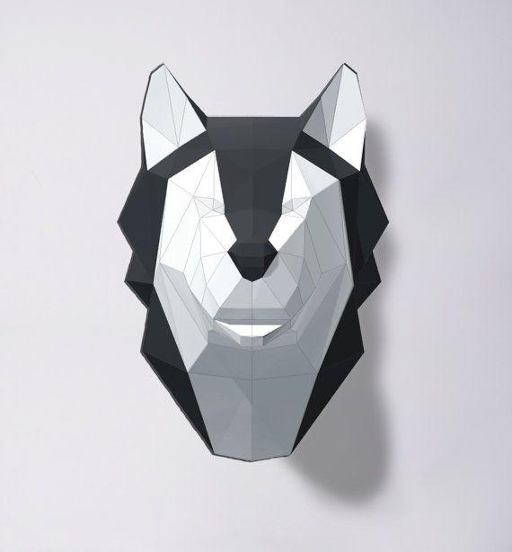 • Este papercraft plantilla una descarga digital instantánea PDF file•  Hacer su propio lobo/perro esquimal. Plantilla de bricolaje imprimible (PDF) contiene 5 páginas y la instrucción.  Se necesita: una impresora, 180g/m2 papel o más grueso, cuchillo o tijeras y pegamento para el montaje. Tiempo de montaje estimado: 3 horas. Tamaño de modelo: A4: 30 x 21 x 20 cm. A3: 43 x 30 x 28 cm.   Después de comprar un archivo digital, usted verá una vista de su enlace de archivos que va a la página de…