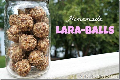 Healthy, Homemade Lara-Balls - A Healthy Slice of Life