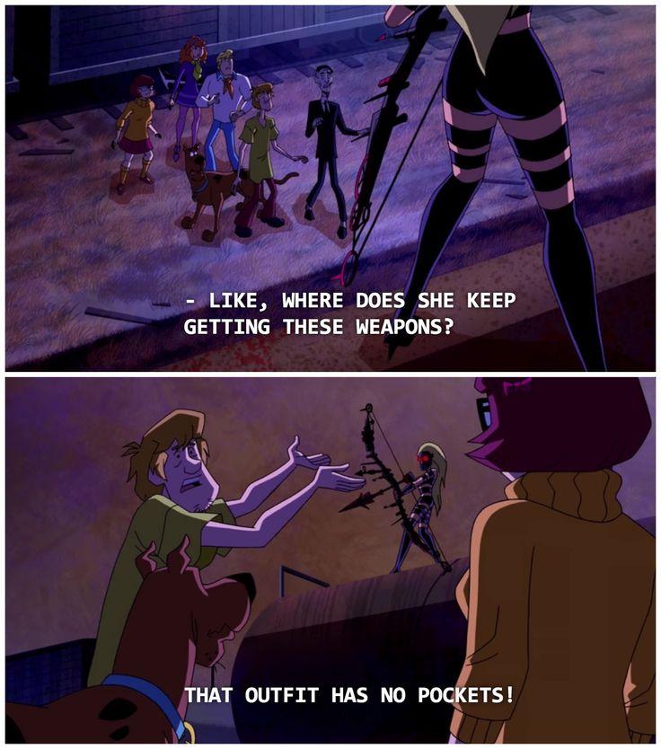 Scooby Doo - scene